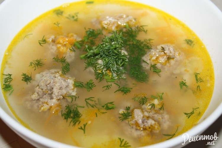 Лучший рецепт супа с фрикадельками