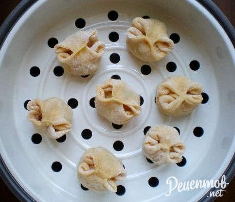 манты из баранины пошаговый рецепт с фото