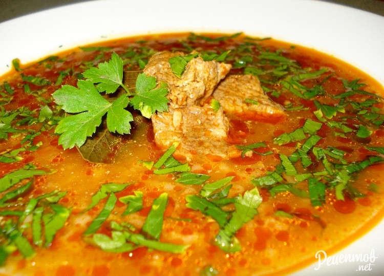 рецепт супа харчо покавказски