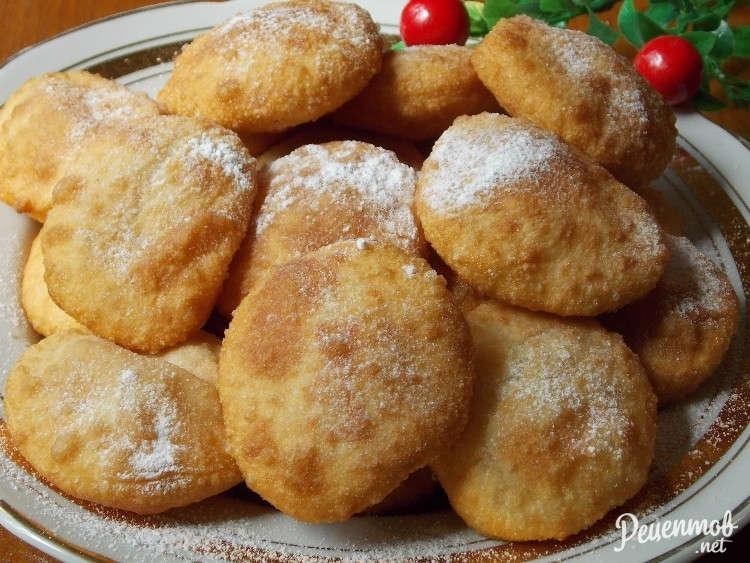 Пончики кефире дрожжах рецепт фото