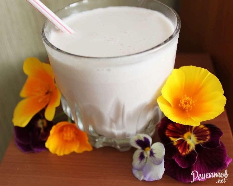 коктейли молочные с вареньем рецепт