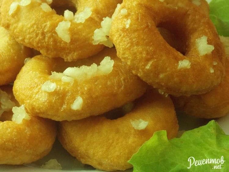 Пончики к борщу рецепт с фото
