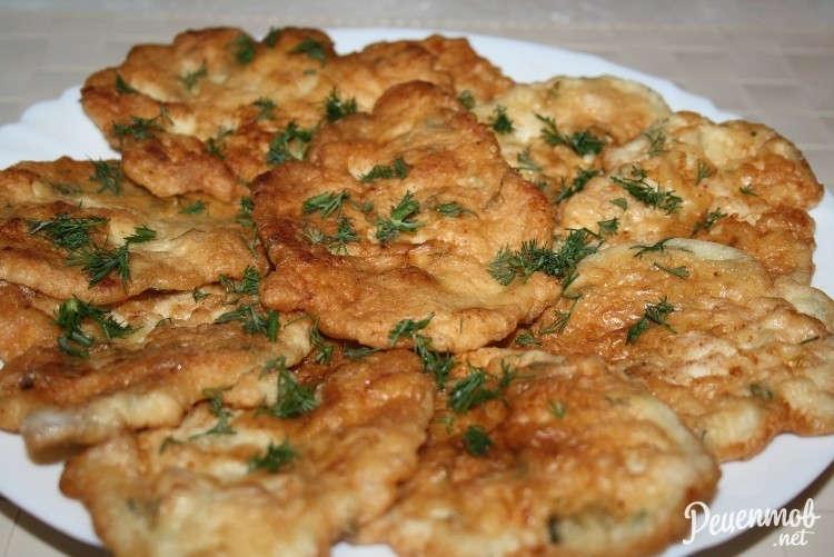 Куриные оладушки из фарша рецепт