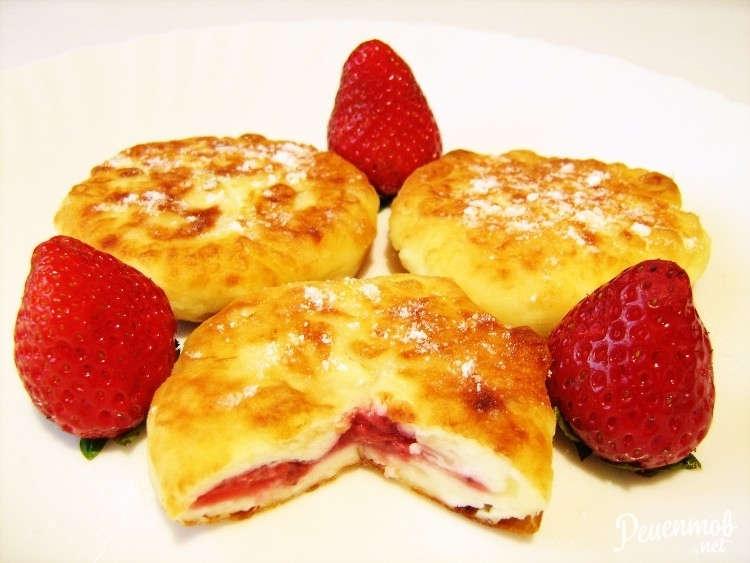 Сырники с клубникой рецепт пошагово