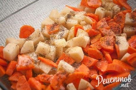Овощное рагу с кабачками и картошкой рецепт с фото и мясом