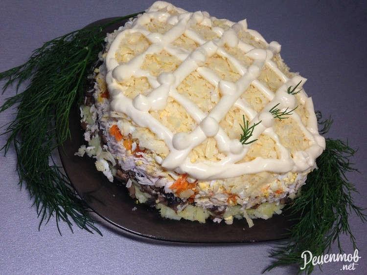салат бонапарт пошаговый рецепт