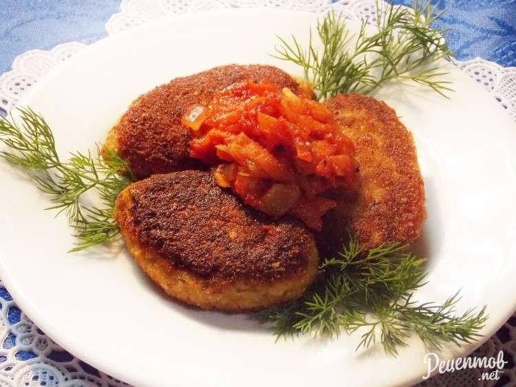 Постный салат с грибами фото