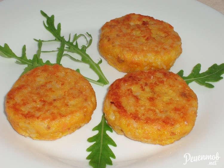 Рецепт котлеты из семги