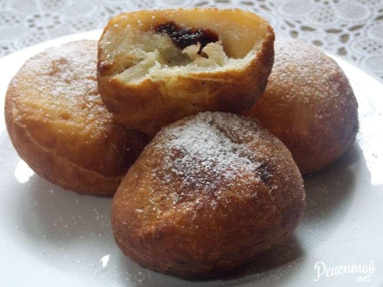 пончики берлинские рецепт пошаговый