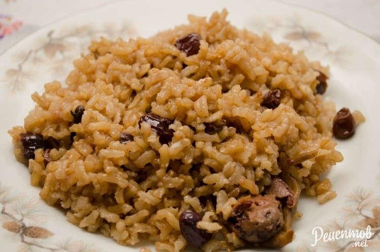 Бурый рис приготовление