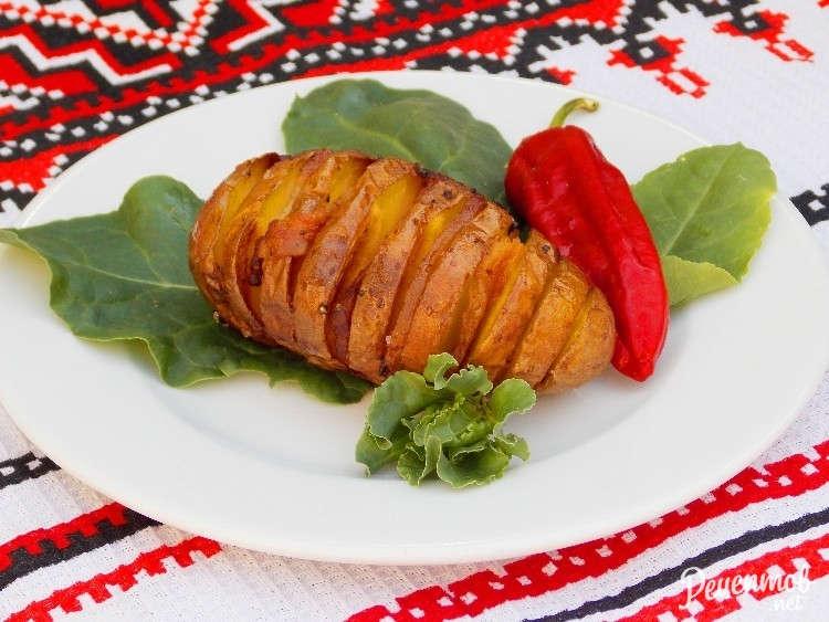 рецепт мультиварка картошка с салом