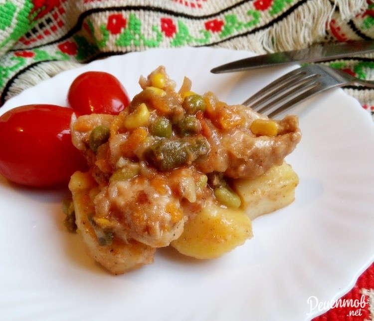 Жидкая картошка с мясом в кастрюле пошаговый рецепт